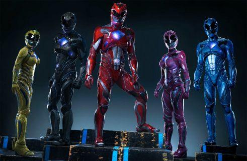 movie reboot de Power Rangers