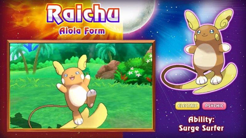 Raichu-Alola-Form