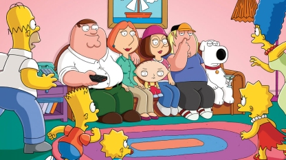 simpsons y family guy